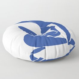 Matisse blue woman orignal Floor Pillow