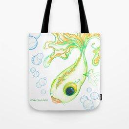 Citrus Fish Tote Bag