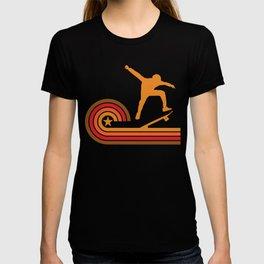 Retro Style Skateboarder Vintage Skateboarding T-shirt