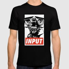 Obey Johnny 5 Mens Fitted Tee MEDIUM Black