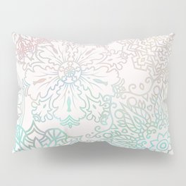 Spring blooms mandala Pillow Sham