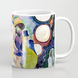 "Robert Delaunay ""Carousel of Pigs (Fr: Manege de cochons)"" Coffee Mug"