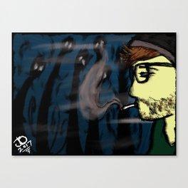 Atrophy Canvas Print