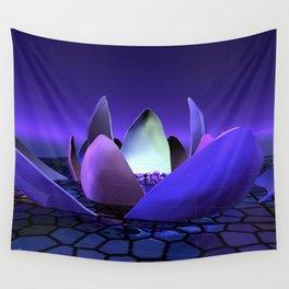 Stellar lotus  Wall Tapestry