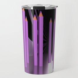 just some pencils -3- Travel Mug