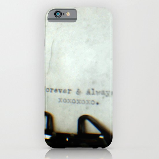 Forever and Always TTV iPhone & iPod Case