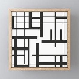 Lines #3 Framed Mini Art Print