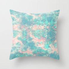 Ocean Foam Throw Pillow