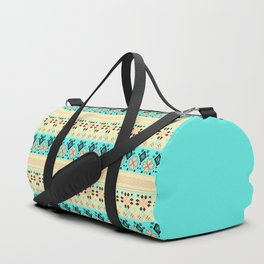Peppermint morning Duffle Bag