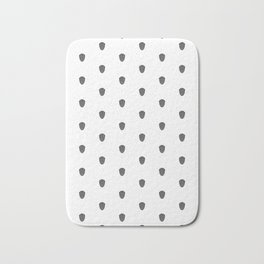 Trilobite Pattern Bath Mat