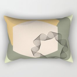 """Canvas Geometry"" Rectangular Pillow"