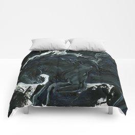 Dark Pegasus Comforters