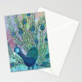 Tail of the Peacock Stationery Cards