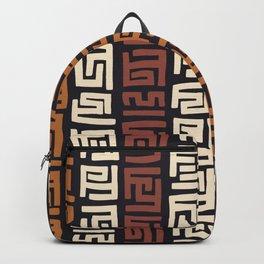 African Kuba Cloth Backpack