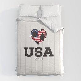 USA Soccer Shirt 2016 Comforters