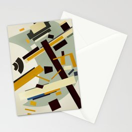 Abstract Composition 424 Stationery Cards