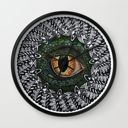 Eye of the Dragon Wall Clock