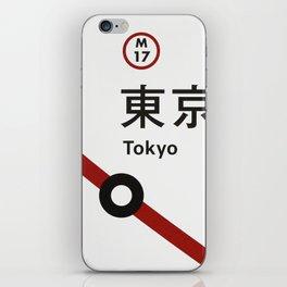Tokyo 3330 iPhone Skin