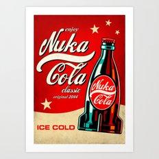 Nuka Cola - Fallout Art Print