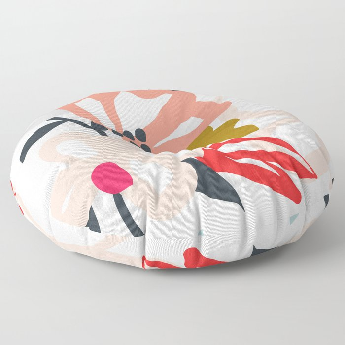Spring Blossoms Floor Pillow