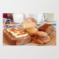 breakfast Area & Throw Rugs featuring breakfast by Amanda Vieira