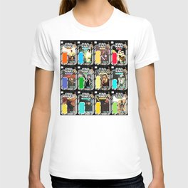 First 12 Cardback Display Star War Vintage Poster T-shirt