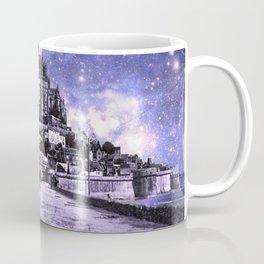 Fantasy Castle Night : Lavender Coffee Mug