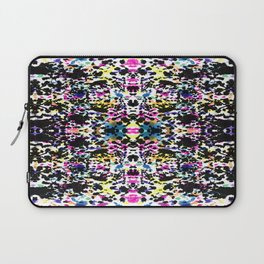 Paint Splatter - Black Laptop Sleeve