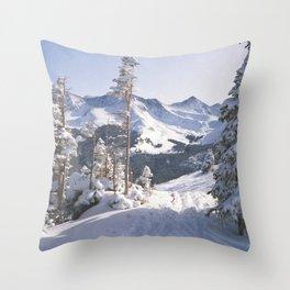 On Copper Mountain, Colorado Throw Pillow
