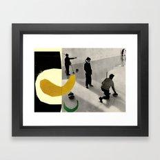 YELLOWCURL Framed Art Print