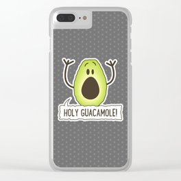 Holy Guacamole! Clear iPhone Case