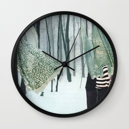 Sheets Wall Clock