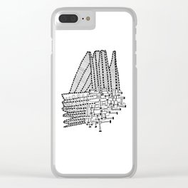 Armada Abstract Clear iPhone Case