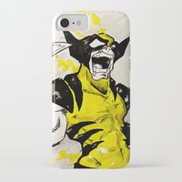 berserk iPhone & iPod Cases featuring Wolverine - Berserker by RISE Arts