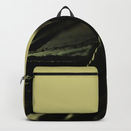 Abstract field landscape metallic pattern texture background Backpack