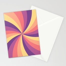 Candy Swirl Stationery Cards