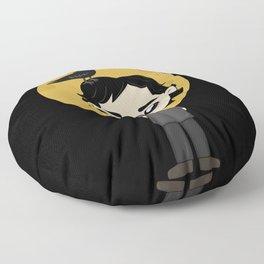 Cute Edgar Allan Poe Floor Pillow
