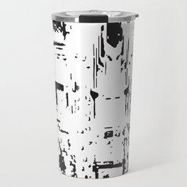 City View - Black & White Travel Mug