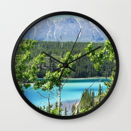 The Glacial Outdoors Wall Clock