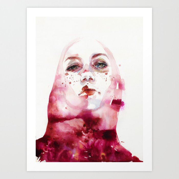 Discover the motif MELOGRANO by Agnes Cecile as a print at TOPPOSTER