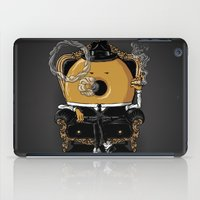 gangster iPad Cases featuring Gangster Donut by Javier Ramos