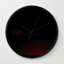 Orion Night Wall Clock