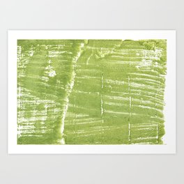 Juicy green Art Print