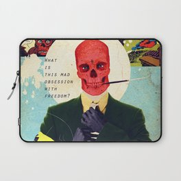 What Is This Mad Obsession With Freedom? Laptop Sleeve
