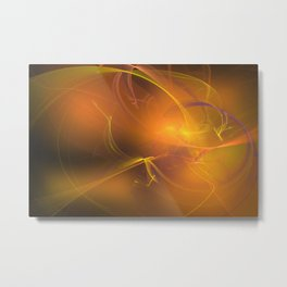 Abstract lighteffects -16- kinds of light Metal Print