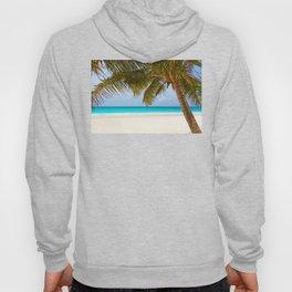 Palm Tree on Beach (Island) Hoody