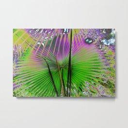 palm leaf design Metal Print