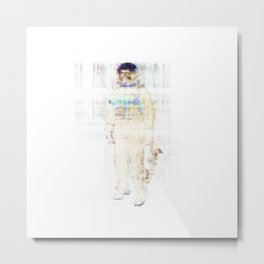 Too Much Space Will Kill You Metal Print