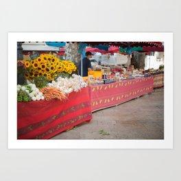 Market 1 Art Print