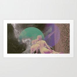 STELLAR WOMAN 005 Art Print